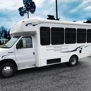 Seniors Activity Bus for Blackville Healthcare & Rehabilitation LLC